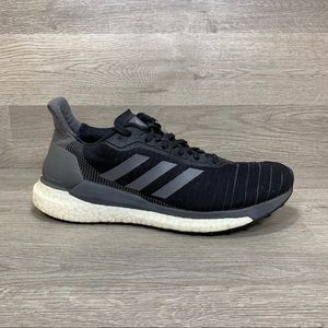 Adidas Womens Athletic Running Shoes Size 7 Black